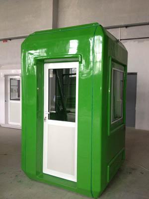 ФОТО: Киоск (пост охраны) зеленного цвета изготовленный под заказ